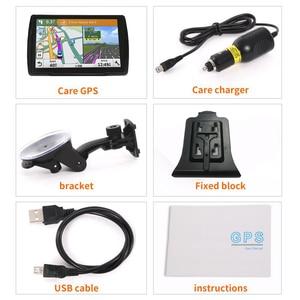 Image 5 - 5 inch HD CarGPS Navigator FM Bluetooth 256BM + 8G Navitel 2019 latest European map satellite Navigatlon truck GPS navigation ac