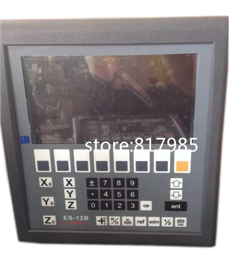 Eixos de leitura digital DRO EASSON 3 ES-12B Gráfico de Alta qualidade kit & digital escala linear para fresadora, torno, moedor, máquina de EDM