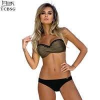 TCBSG 2019 Neue Ankunft Push Up Bademode Sexy Bikinis Frauen Badeanzug Weibliche Strand Tragen Badeanzug Bikini Set Biquini
