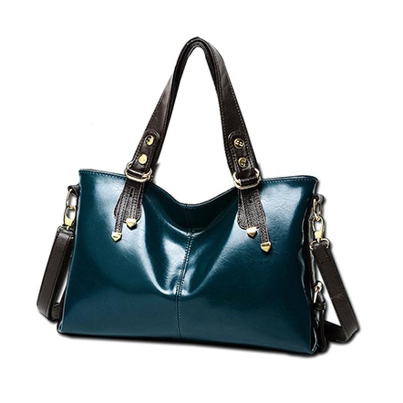 2016 new autumn PU leather female Shoulder Messenger bag Laptop luxury handbags women bags designer women