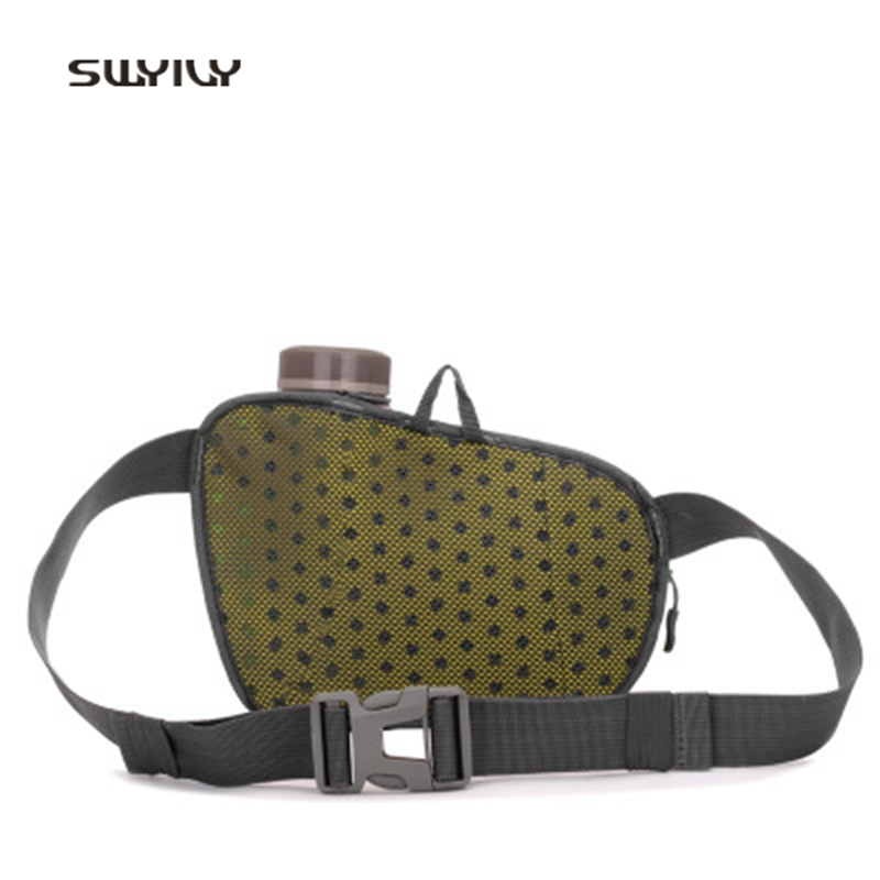 SWYIVY Outdoor Bags Nylon Waterproof Crossbody Bags For Men And Women 2018 Multifunctional Water Bottle Pockets Sport Chest Bag