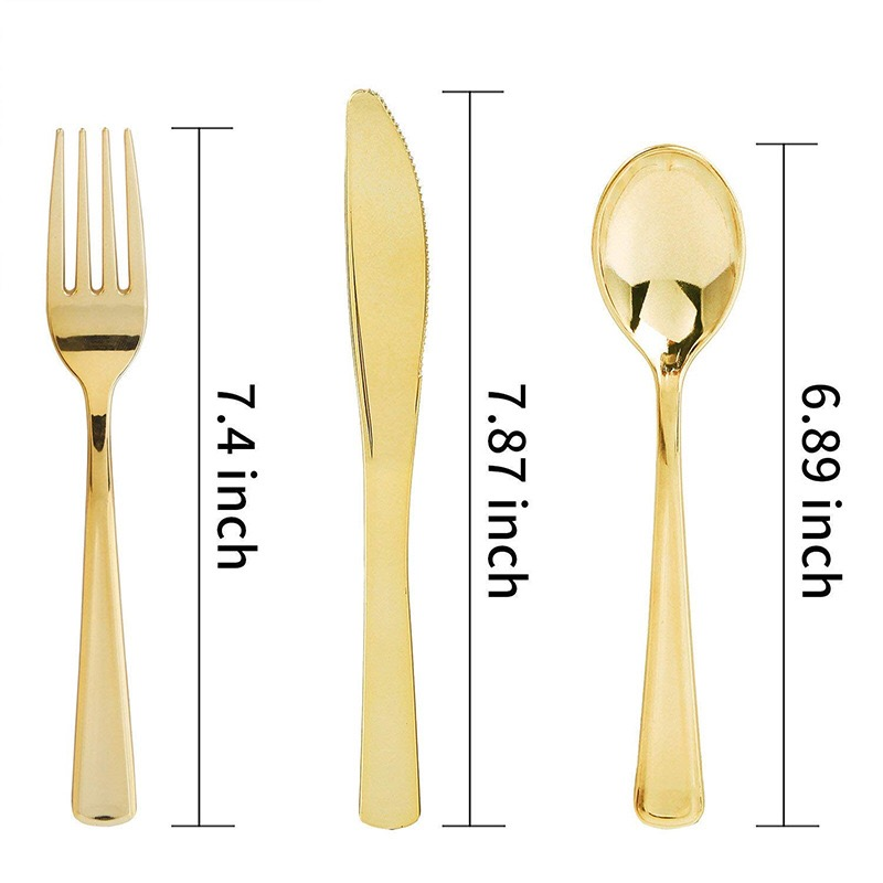 Rose Gold 25pcs Disposable Plastic Tableware Plates 1pcs Tablecloth 7pcs Balloon For Wedding Baby Shower Birthday Party Supplies in Disposable Party Tableware from Home Garden