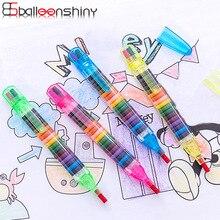 BalleenShiny детские игрушки для рисования 20 цветные восковые мелки детские забавные креативные развивающие масляные Пастельные Детские ручки граффити случайный цвет