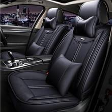 цена на LCRTDS Full set car seat covers for Mitsubishi asx montero outlander 3 xl pajero 2 3 4 full sport colt of 2018 2017 2016 2015