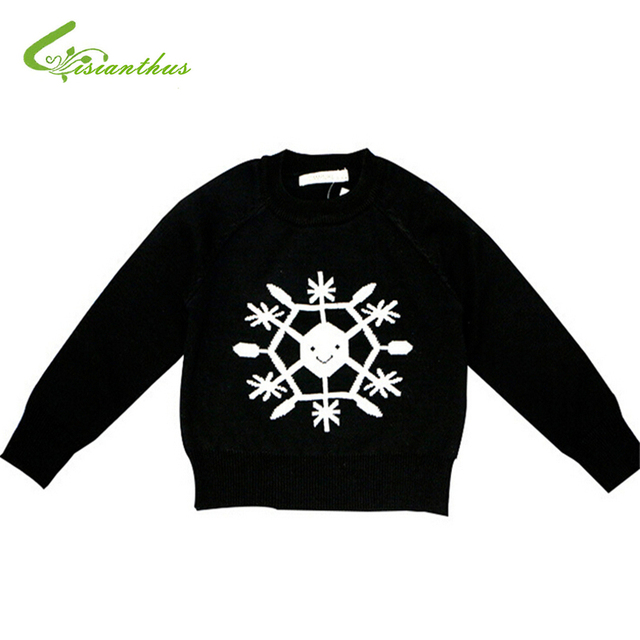 Baby Girls Boys Sweaters Spring Autumn Cotton Clothing Snow Knitted Clothes Soft Fashion Sweater Tops Out Wear Children Pullover