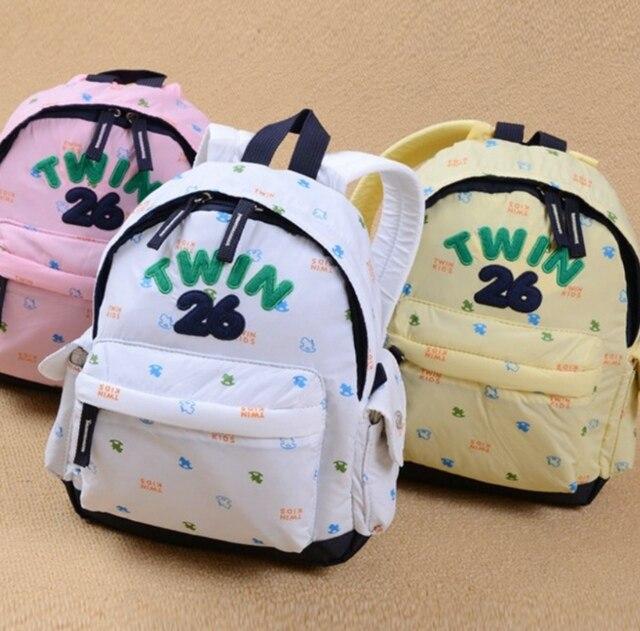 f05037d511 Free shipping Korea brand Twin kids Children s backpacks for kids Townkids  cute School Bag Rucksack