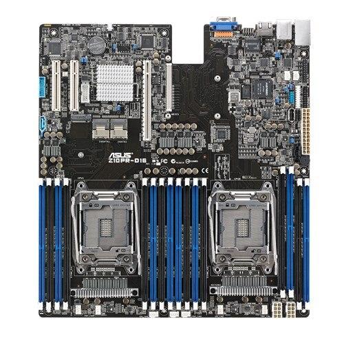 Z10PR-D16 C612 puce 2011-v3 DDR4 carte mère serveur soutien E5 2600 V3 V4 utilisé 90% NOUVEAU
