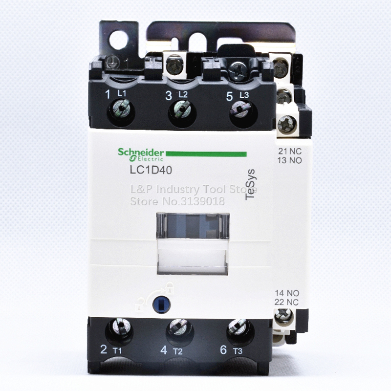Old Version New Original Schneider LC1D40M7C Coil 220VAC Contactor Relay LC1 D40M7C 40A Load 18