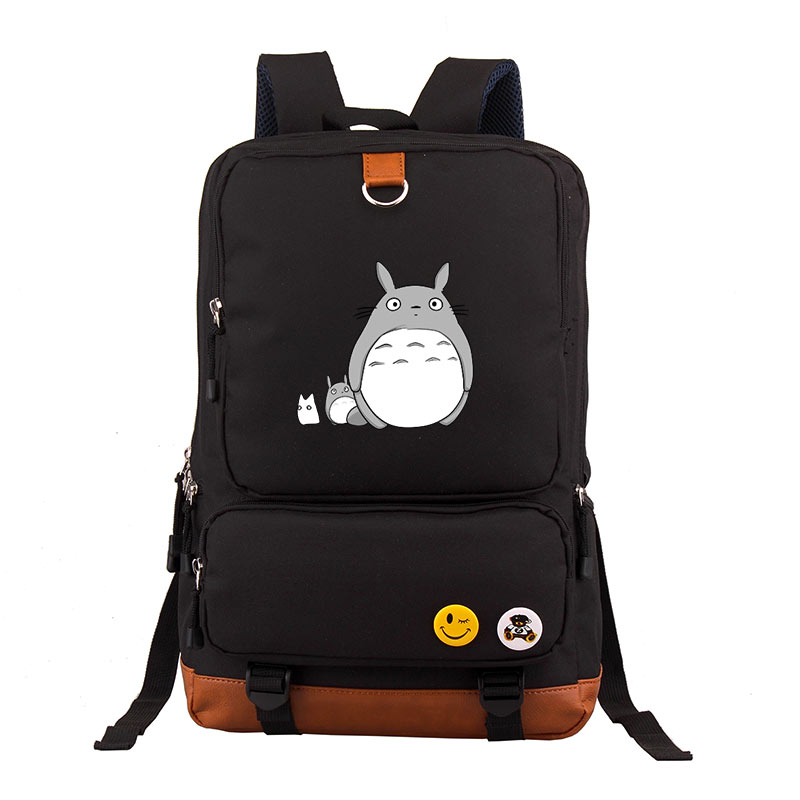 High Quality Anime My Neighbor Totoro Printing Backpack Oxford Kawaii School Bags Mochila Feminina Fashion Laptop Backpack
