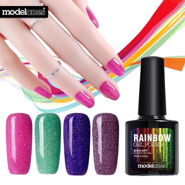 Modelones 1Pcs 10ml Colorful Neon Nail Gel UV Gel Soak Off UV Color ...