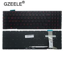 GZEELE NEUE US Layout für Asus G551 G551J G551JK G551JM G551JW G551JX G551VW N551 N551J N551JB N551JK backlit laptop tastatur