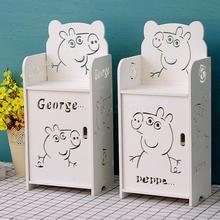 Креативная детская прикроватная тумбочка с рисунком, современная простая маленькая мини-подставка для косметики для мальчиков и девочек, многослойная