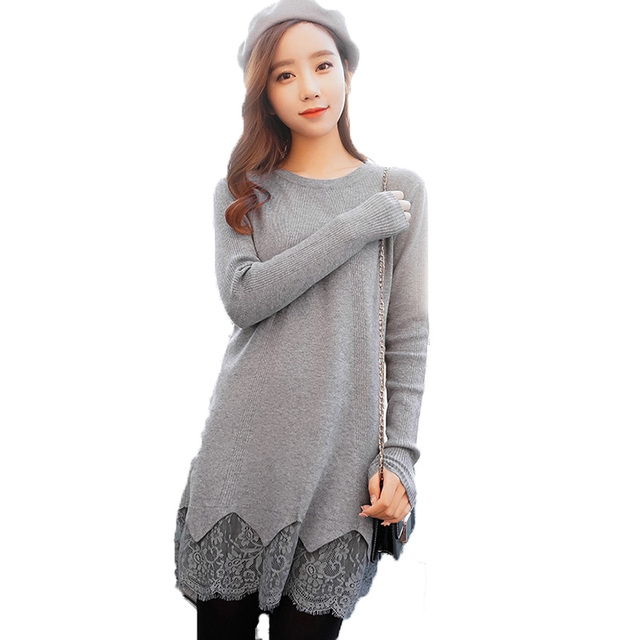 Pull Femme Manche Longue Womens Jumpers 2018 Autumn Winter Clothes Women  Sweaters And Pullovers Long Sweater