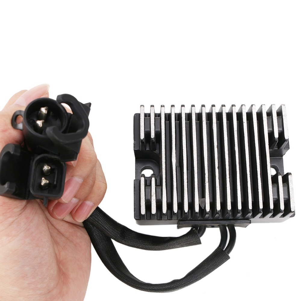 Motorcycle Bike Voltage Regulator Rectifier for Harley Davidson HD Sportster XL 883 1200 C L N R XL883 XL1200 2007 2008 #ME015 motorcycle cnc engine derby timer and timing cover for harley davidson sportster xl883 xl1200 xl883c xl1200l 48 72 xl 883 1200