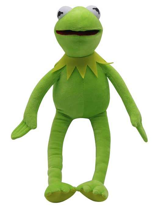 Детские игрушки Muppets фильм лягушонок Кермит эксклюзивные плюшевые игрушки Улица Сезам кукла Muppets фильм плюшевый Кермит чучело кукла
