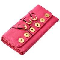 P00306 Hot Wholesale Snap Bracelet Bangles 10 Color High Quality Leather Bracelets Women Fit 18mm DIY