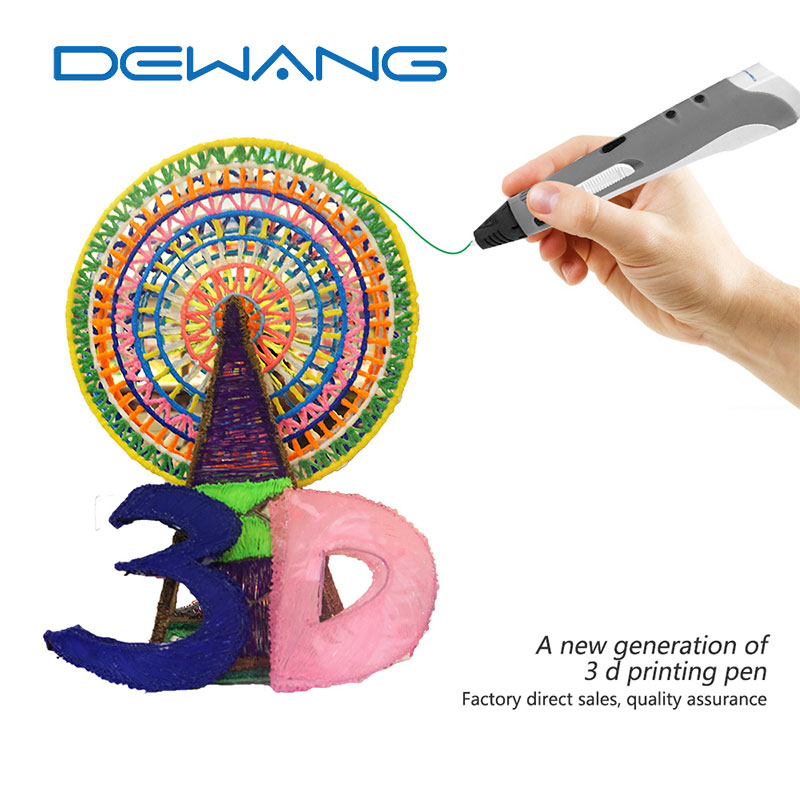 DEWANG 2017 New Arrival Fashion Kids Gifts 3D Printer Pen Candy Color...