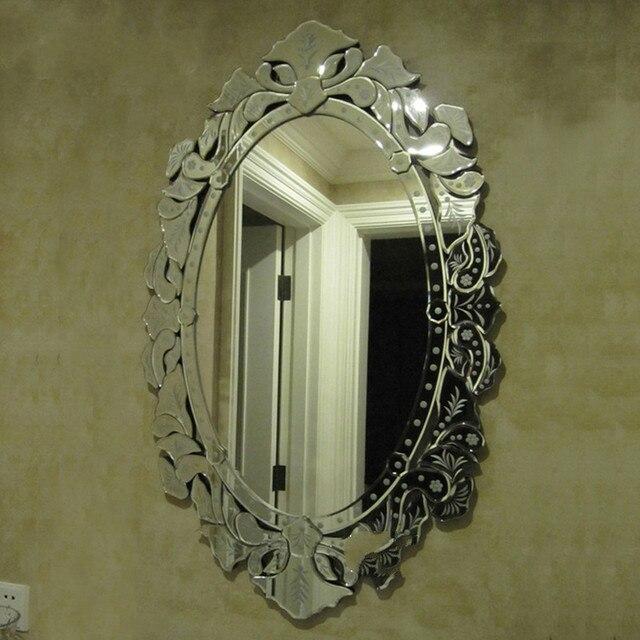 Carved Mirror Decorative Mirror Entrance Mirror Bathroom Mirror