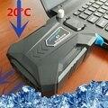Эффективный универсальный Мини USB Вакуума 5 В Вентилятор Воздуха Извлечение Дело портативный ноутбук Кулер, радиатор, снижение температуры, Радиатор