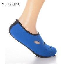 Sapatos de água respirável do aqua, verão natação praia sapatos meias, ao ar livre seaside oco sneaker meias chinelos para mulher