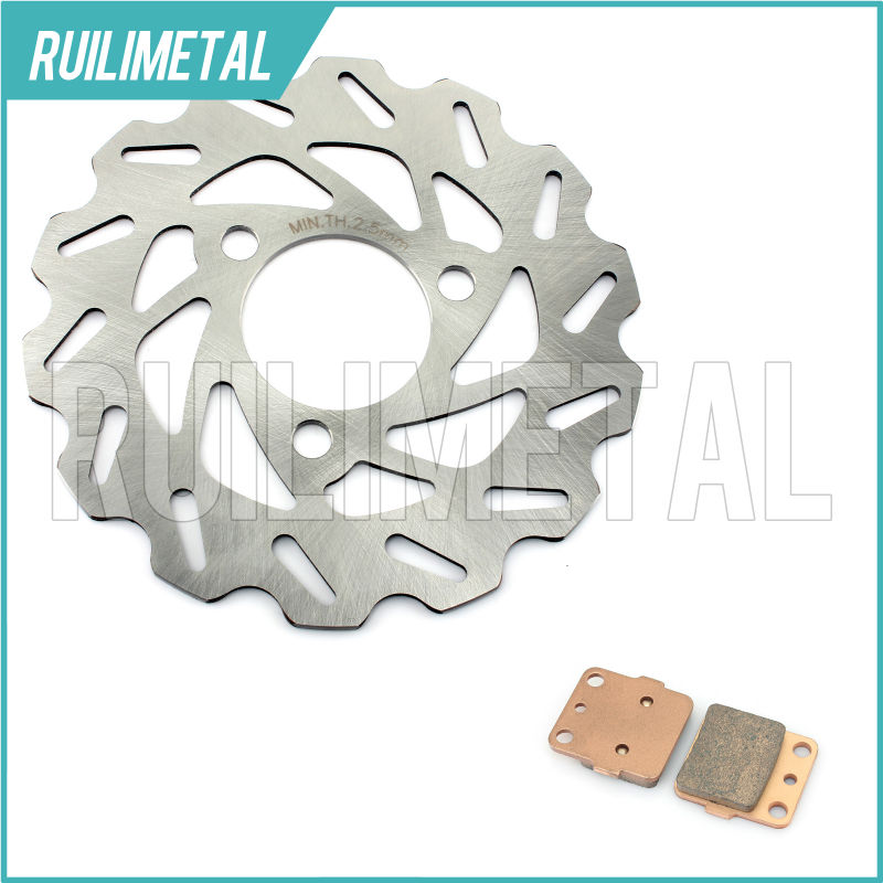 ATV New Front Brake Disc Rotor Pads Set for HONDA TRX400EX TRX 400 EX 99 00 01 02 03 04 05 06 07 08 TRX400X 09 10 11 12 13 кронштейн фары fz600 6 fz6n 05 06 07 08 atv