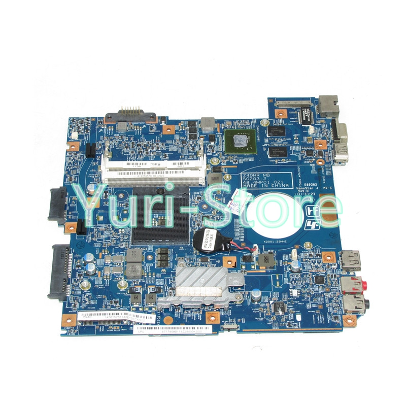 NOKOTION For Sony PCG-61911L VPCEG Laptop Motherboard A1829657A MBX-250 48.4MP01.021 Main board HM65 DDR3 GT410M все цены