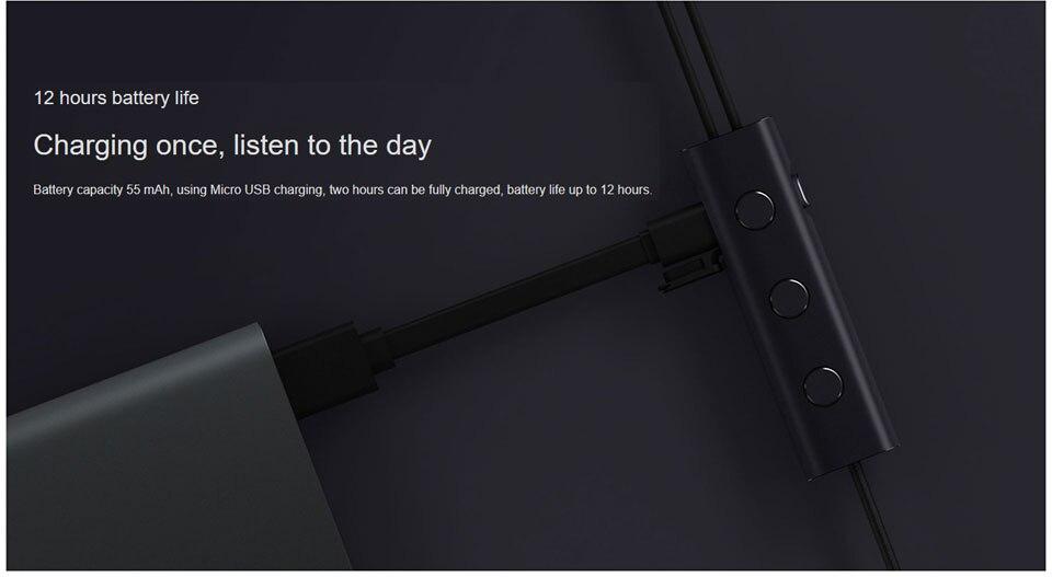 Оригинал Xiaomi 3,5 мм ANC Наушники гибридные 3 блока 2 класса шумоподавления Наушники с высоким шумоподавлением Hi-Res наушники (8)