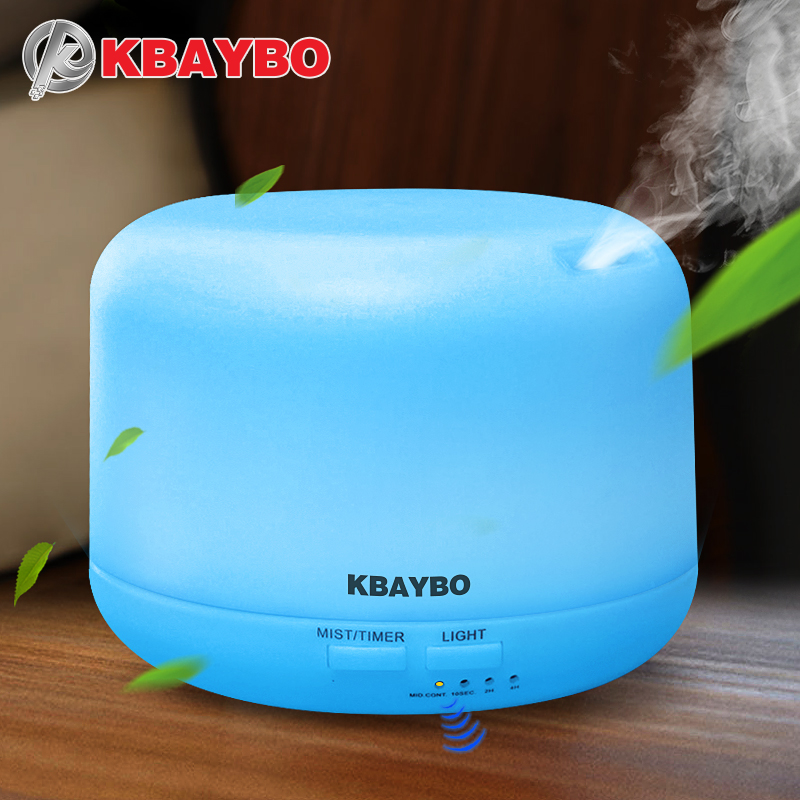 Ultrasonido aromaterapia humidificador Aceites difusor purificador de aire para el hogar Mist Maker aroma difusor nebulizador LED 300 ml