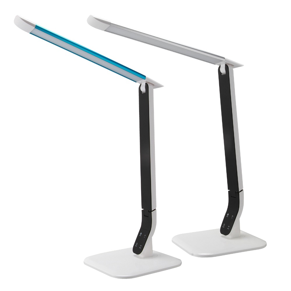 Eye Protection LED Desk Lamp 3-level Dimmer&Color Touch Control Flexible Gooseneck Bedside Reading Study Office Table Light 4 level brightness led office table desk lamp touch dimming rechargeable bedside reading light for study engineer architect