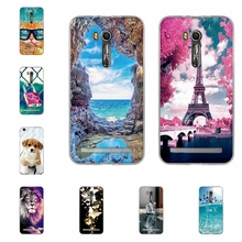 Silicon Case For Asus Zenfone Go ZB551KL 5.5″ Back Soft TPU Cover For Asus Zenfone Go ZB551KL Phone Cases Painted Shells ZB551KL
