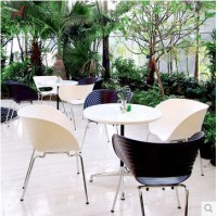 New Wholesale Casual Dining Chairs Metal Plastic Chair Conference Chair Office Chair Living Room Furniture Free