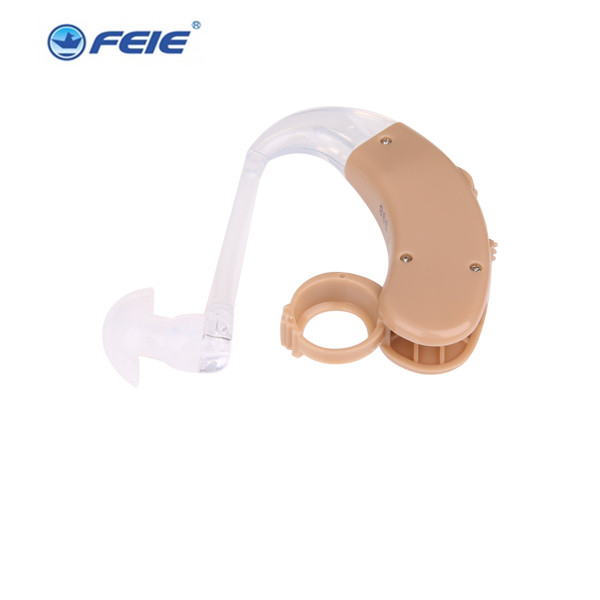 2PCS audifonos para sordos Soft Ear Hook Hearing Aids Behind The Ears S-998 675 batteries for hearing aids Drop Shipping clear sound ear hearing machine adapter audifonos sordos recargable s 219 drop shipping