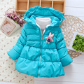 Children Winter Clothing Baby girl clothes Cartoon Outerwear Newborn Girls Jacket Coats Hooded Kids Costume Down Parkas