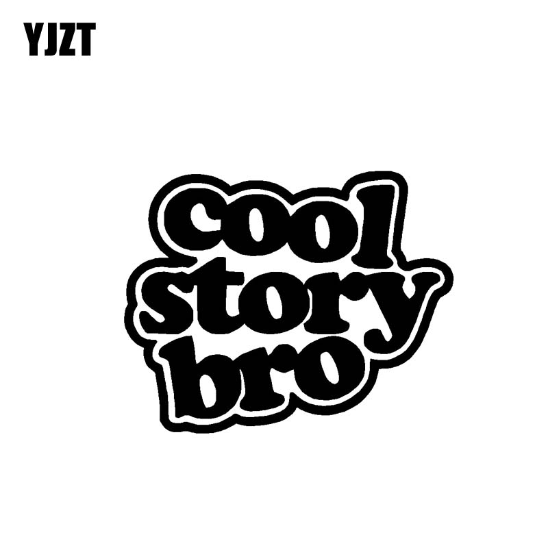 yjzt 12 8cm 10 3cm cool story bro vinyl decal car sticker lowered Autocross Truck C10 yjzt 12 8cm 10 3cm cool story bro vinyl decal car sticker lowered drift turbo black silver c10 00896 in car stickers from automobiles motorcycles on