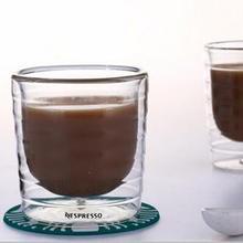 Кофейная чашка Caneca, 6 шт./лот, ручная работа, двойная стенка, сывороточный протеин, Canecas, Nespresso, кофе эспрессо, 85 мл, 150 мл, термальная чашка