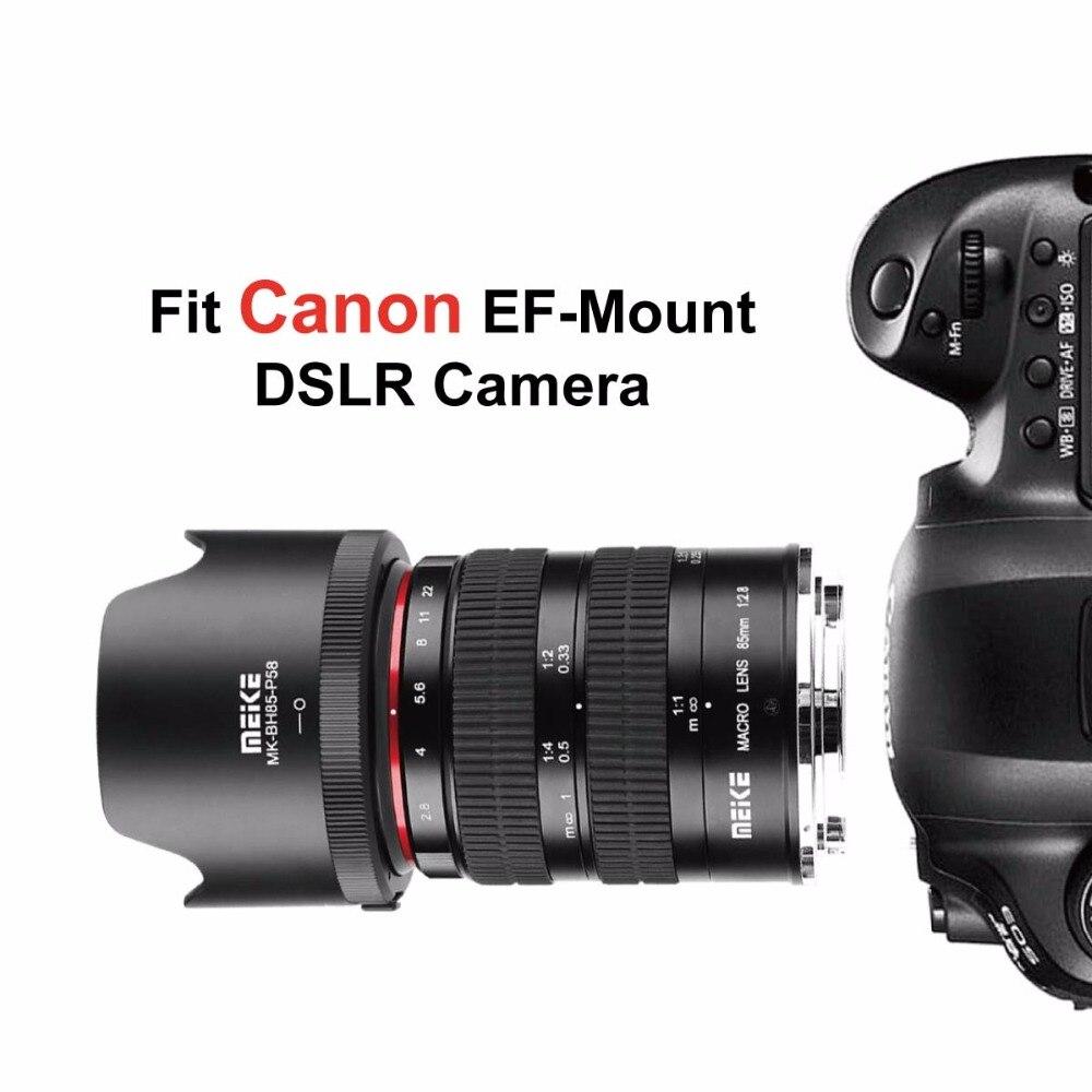 MK 85mm f2.8 Full Frame 1.5:1 Macro Lens for Canon EOS 1300D 600D ...