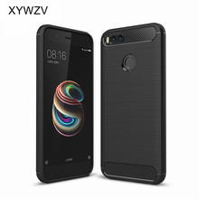 For Xiaomi Mi A1 5X Case Cover Shockproof  Luxury Soft Rubber Phone Case For Xiaomi Mi A1 Cover For Xiaomi Mi A1 5X 5 X Fundas цена и фото
