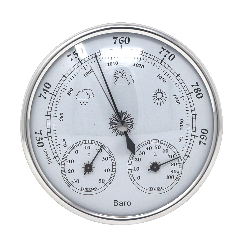 Temperature Humidity Atmospheric Pressure Monitor Meter 3 in 1 Weather Station Household Thermometer Hygrometer Barometer indoor air quality pm2 5 monitor meter temperature rh humidity