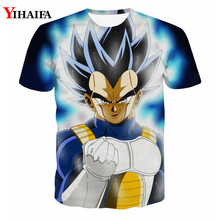 3D T shirt Dragon Ball Z Print Anime Vegeta Casual Tee Shirts Hipster Cartoons Tops Men Unisex Graphic Tees dragon ball t
