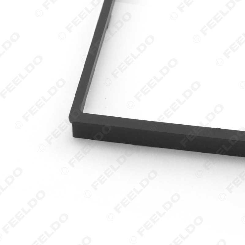 FEELDO 1 Pc 2Din 車の DVD ラジオステレオ筋膜パネルフレームアダプターフィッティングキットホンダフィット (ジャズ) # FD-4406