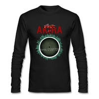 Akira Mens T Shirts Online Premium Long Sleeve Custom Plus Size Tee Shirt