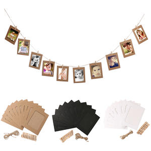 GUUUUO Wall Hanging Photo Frame Picture Wedding Decoration