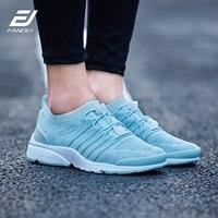FANDEI women air running shoes sport shoes woman trainer shoes flyknit upper new lace design socks sneakers women zapatillas