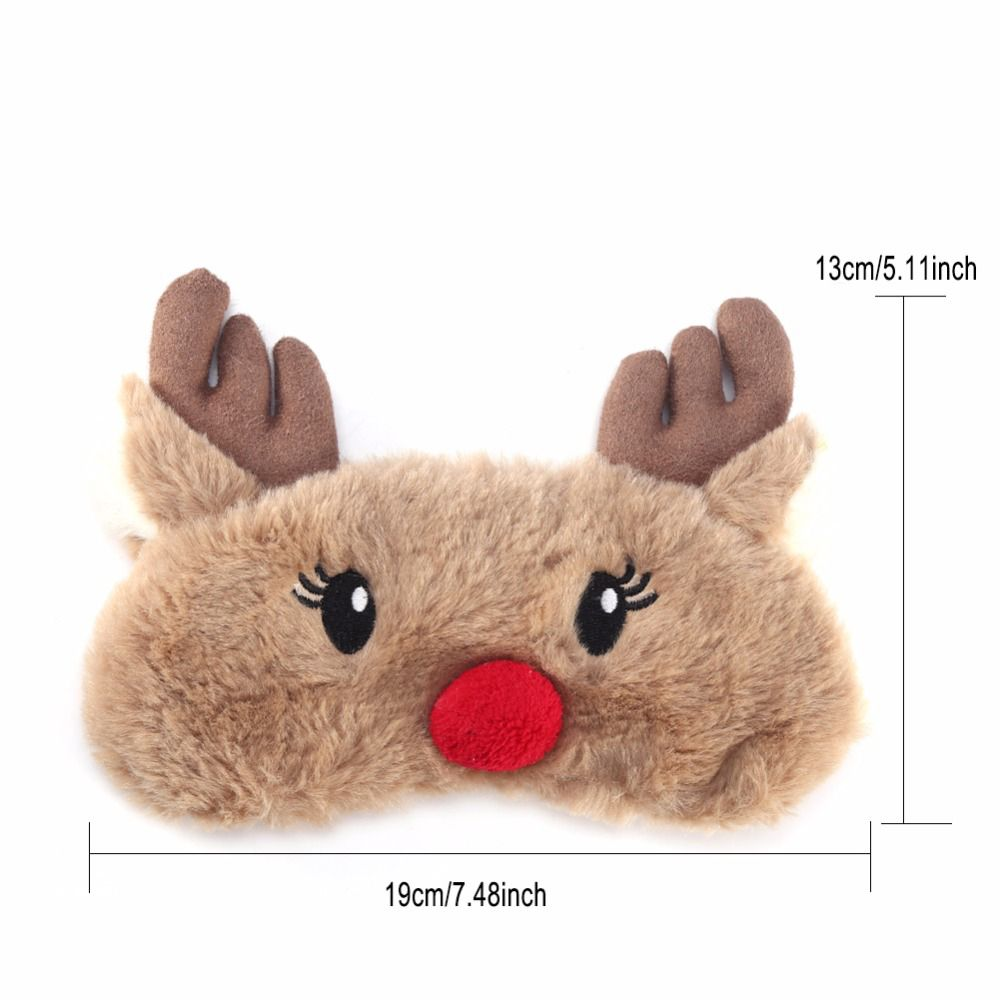 Christmas-Deer-cute-animal-eye-cover-Plush-Fabric-Sleeping-Mask-Eyepatch-Winter-Cartoon-nap-Eye-Shade (4)