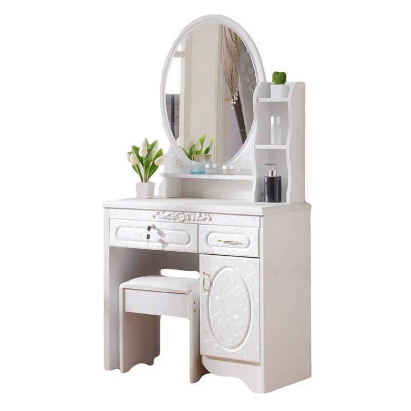 Mesa Mdf Coiffeuse Makeup Box Vanity Dormitorio Chambre Cabinet European Wooden Bedroom Furniture Table Quarto Penteadeira цена