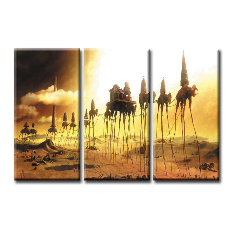 3 Pieces/set Abstract poster series Canvas Painting living room Room Decoration Print Canvas Pictures Framed/Abstract (68)