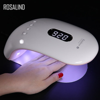 ROSALIND 36W Nail Drying Tool For Nail Gel Curing SUNRB2 Gel Varnish Lamp For Nail UV LED Fast Dry Machine For Manicure