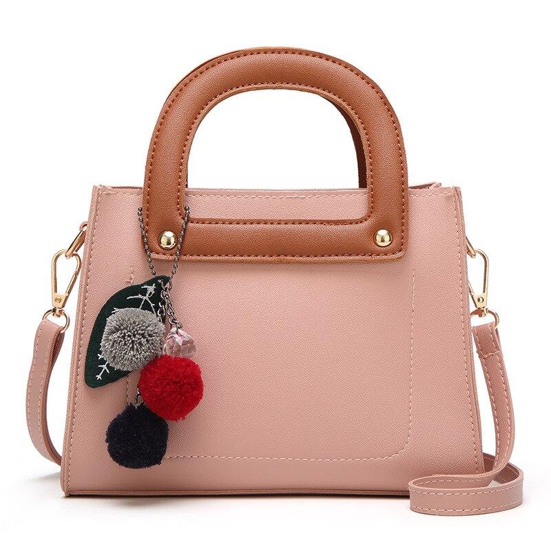 Модный бренд 2017 Маленькая женская сумка женская из искусственной кожи высокого качества с мячом Сумка портфели особенно сумочка