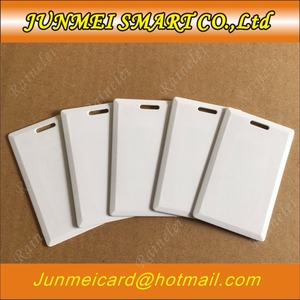 100pcs 125Khz RFID Writable Cards T5577 T5557 Thick card Rewrite Proximity copy card Access Control Cards