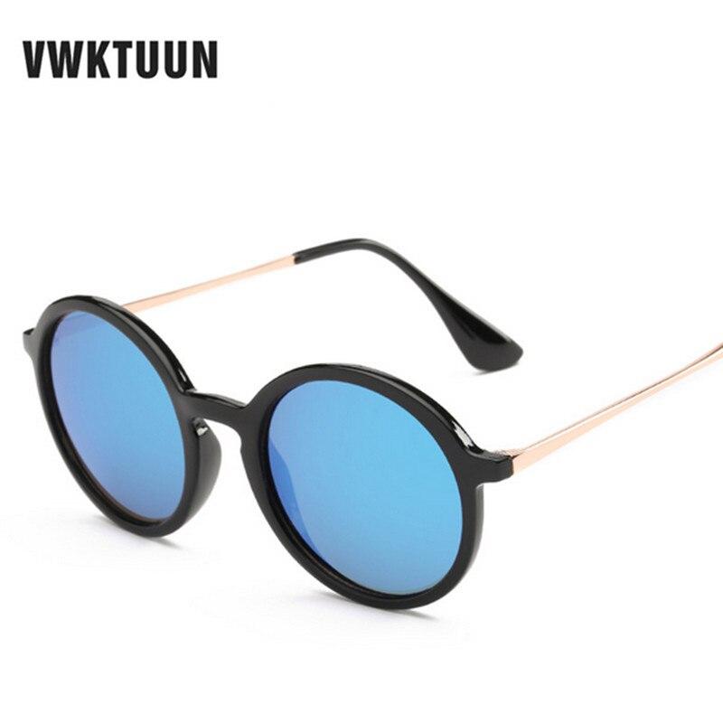 Vwktuun aleación Marcos Steampunk Mujeres Nuevo Gafas de sol diseño de marca  de lujo espejo Gafas mujer oculos UV400 Sol Gafas ef4ba259c06a